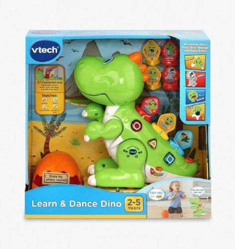 VTech Learn & Dance Dino Baby Interactive Toy